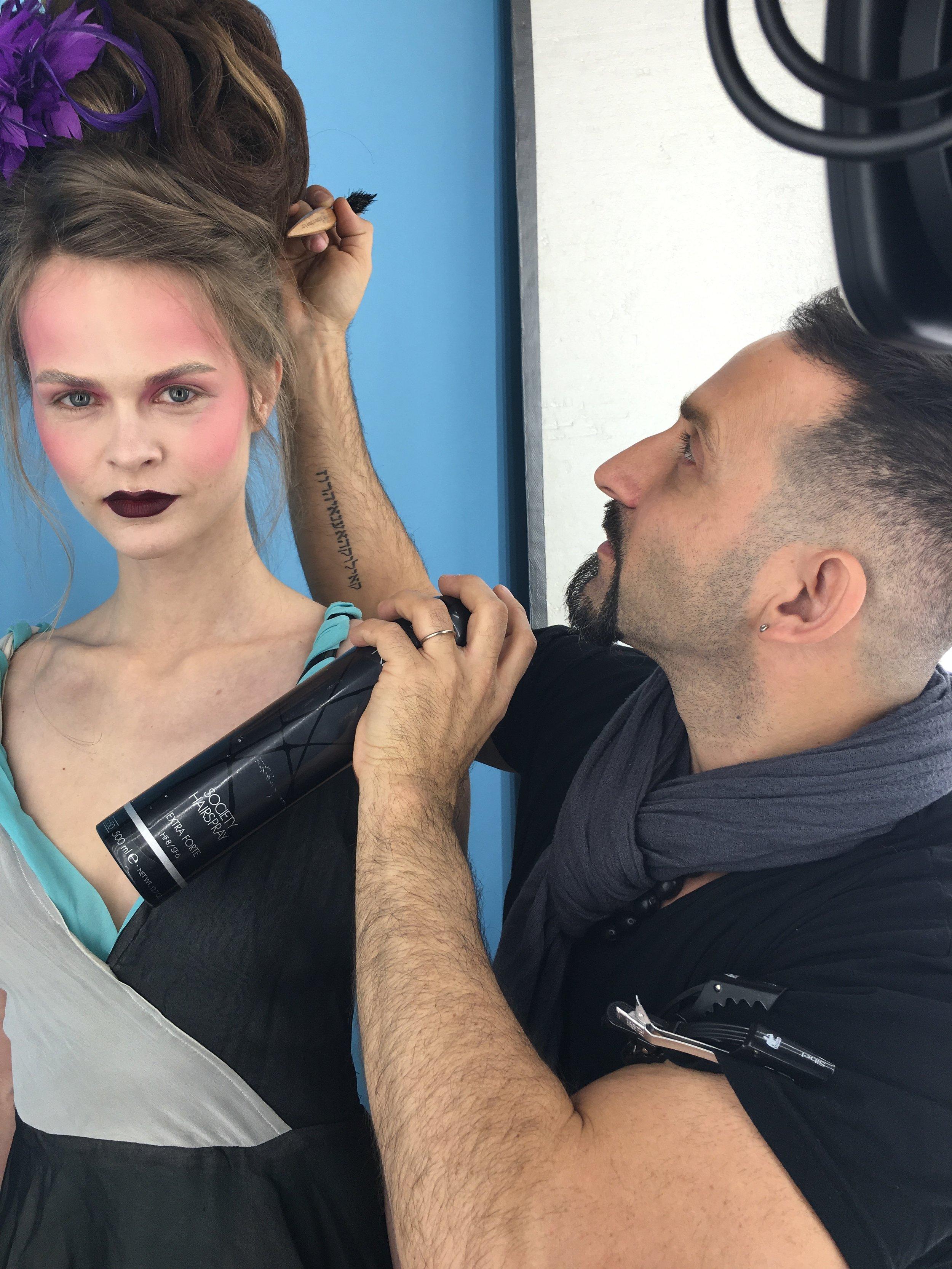 Joseph Koniak Hairdressing Live