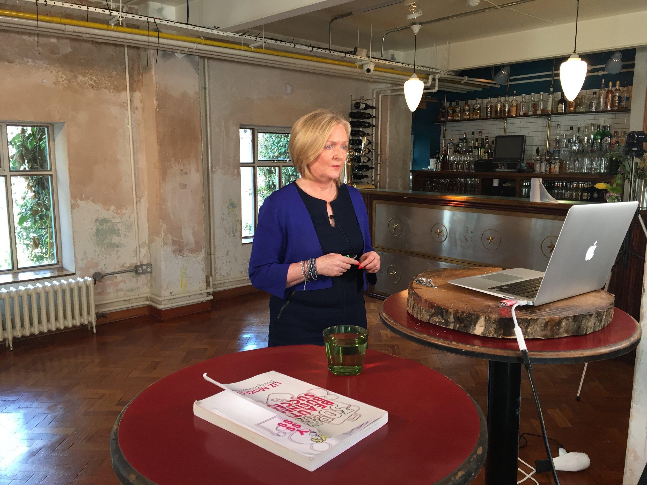 Liz McKeon Building Profits Up