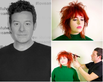 Inspirational Cutting & Styling with Andrew Mulvenna