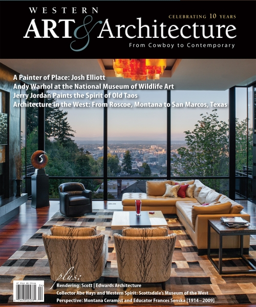 April/May 2017 - Featherstone Arts Gallery featured our Ambrosia Maple coffee table in Western Arts and Architecture. They are a phenomenal gallery that work with some amazing artist.