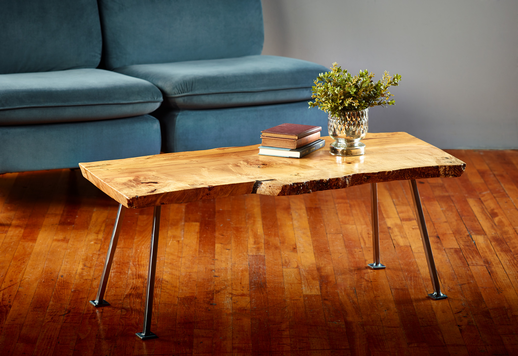Spalted Ambrosia Maple Coffee Table