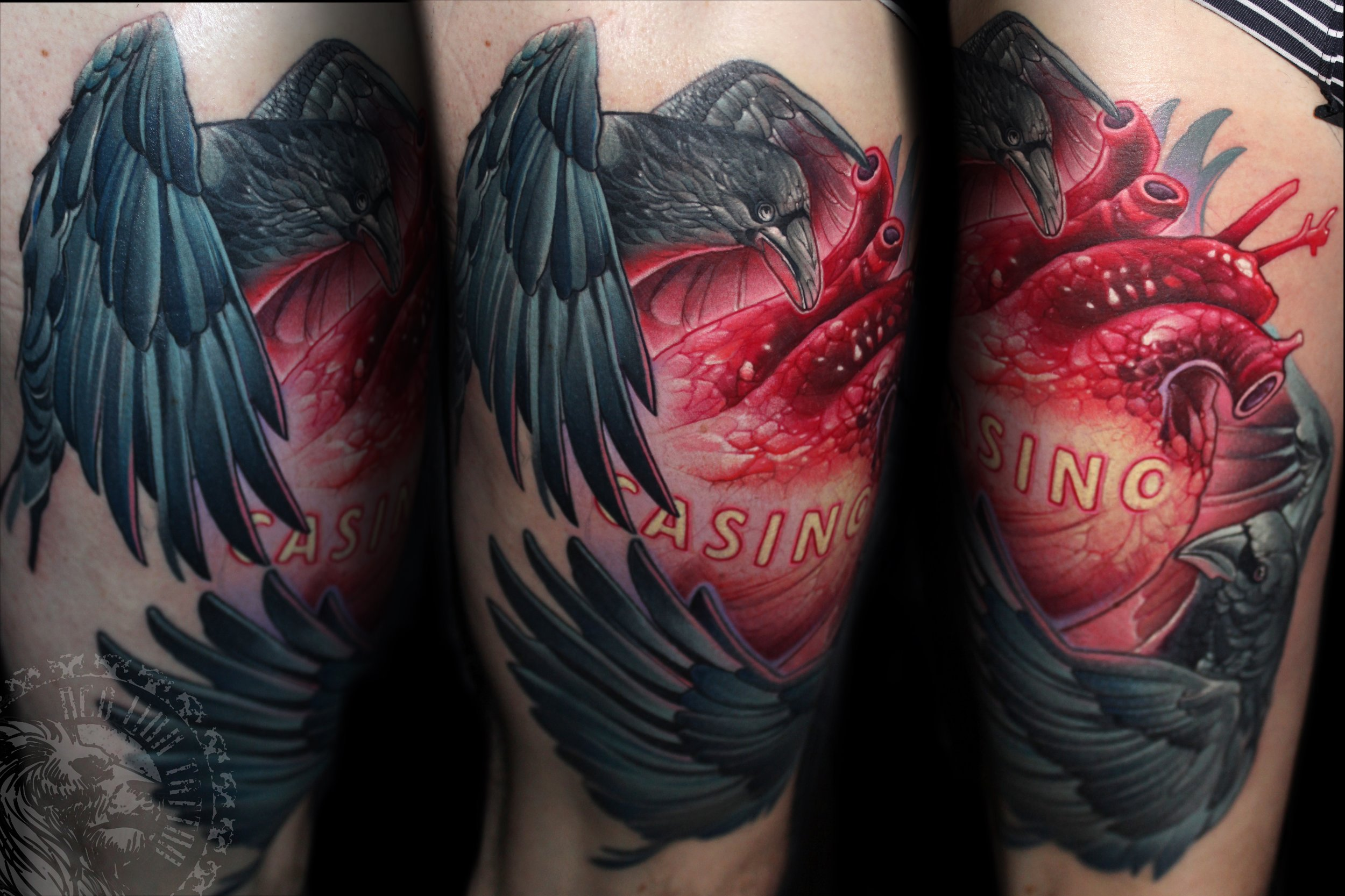Red lion tattoo — Red Lion Tattoo Hungary