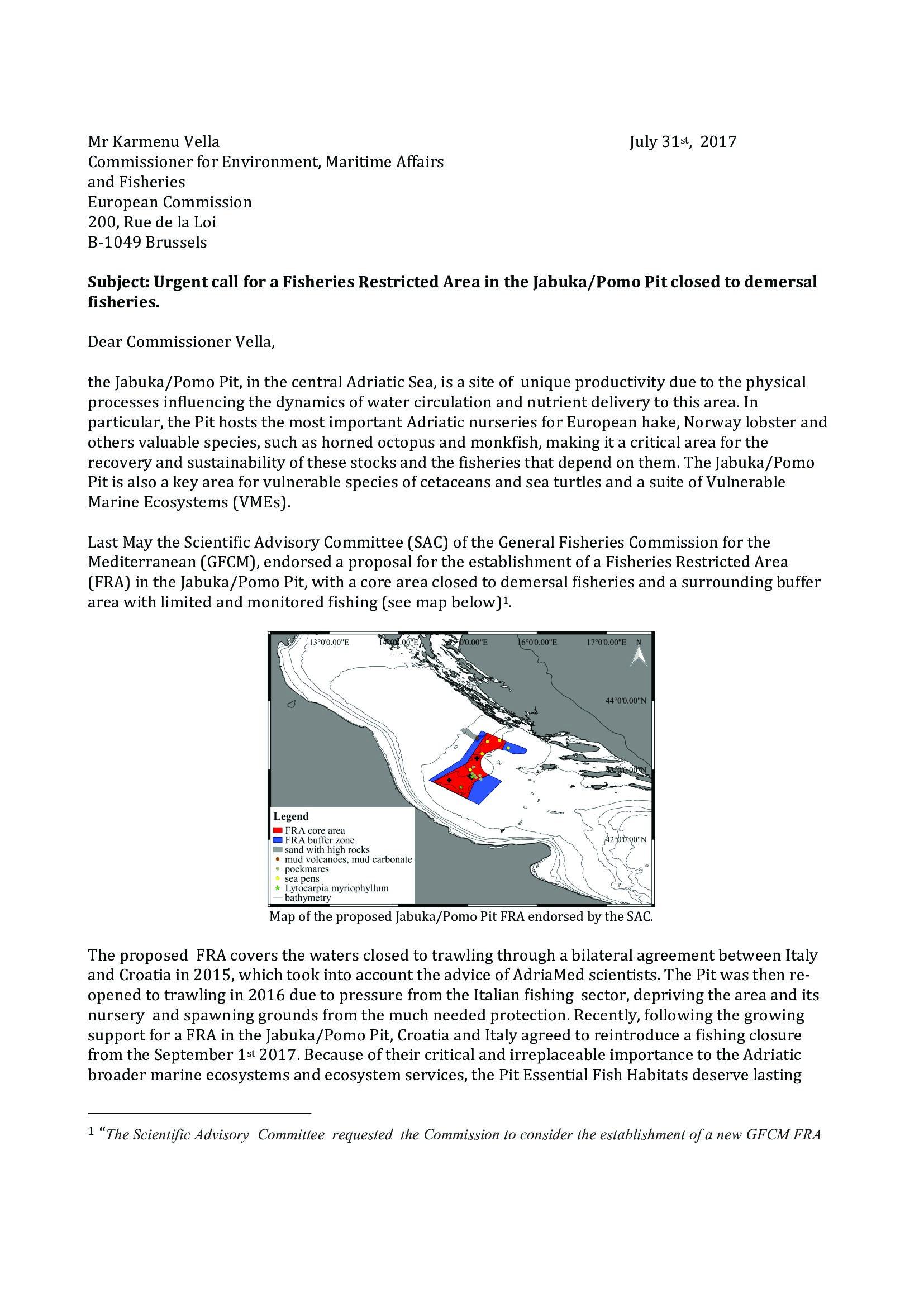 FRA Karmenu Vella Letter