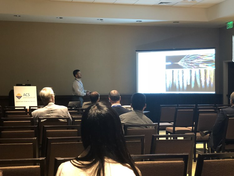 Dr. Kevin White presents lecture on dry adhesive technology at the American Chemical Society's National Meeting and Expo in Boston, MA. The lecture was part of a symposium on multi-functional nanomaterials held in honor of Professor Hung-Jue Sue's 60th birthday.