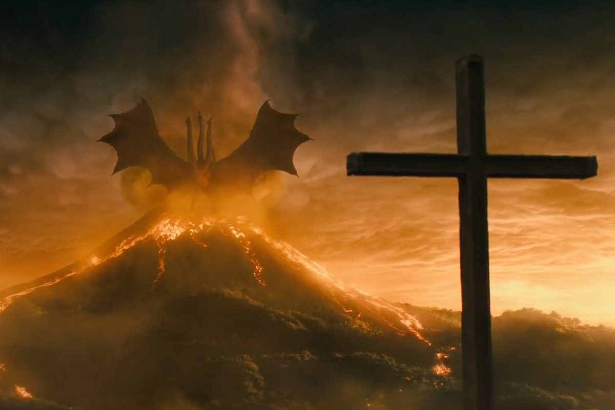 Ghidorah.  Godzilla: King of the Monsters  (2019)