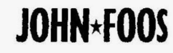John Foos Shoes  Advertising - Vía pública, y medios gráficos La Nación - Clarín .  BA