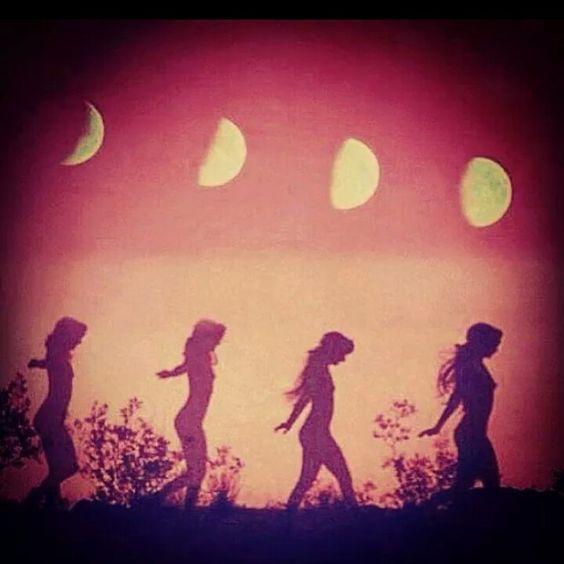 red moon womens circle