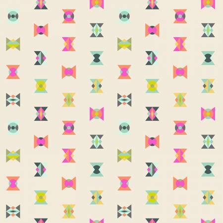 "Tula Pink Elctric Sky Arrowheads for Free Spirit 44"" - $9 yard"