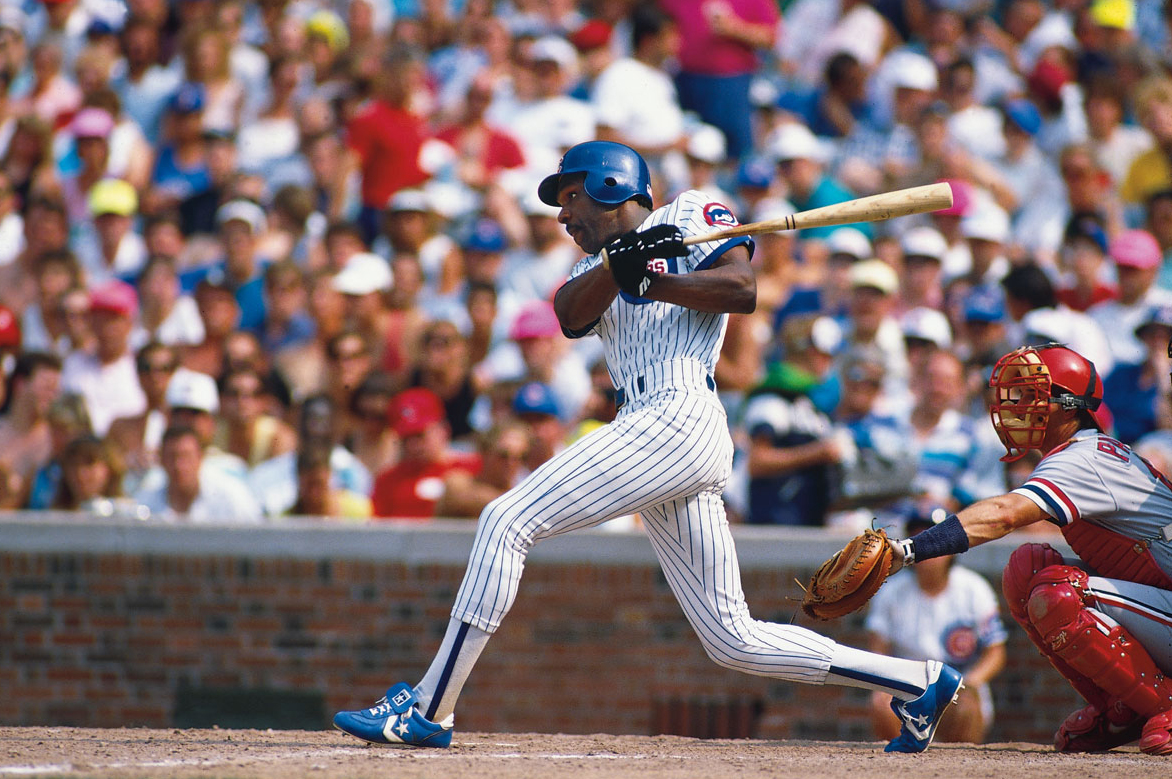 The Hawk Andre Dawson played for the Cubs 1987-1992