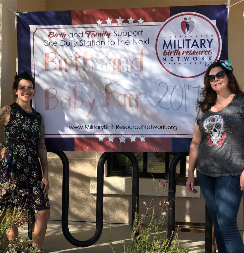 Pictured: (Left) Christy Googe, Chapter Leader. (Right) Jennifer Crawford, Co-Chapter Leader.