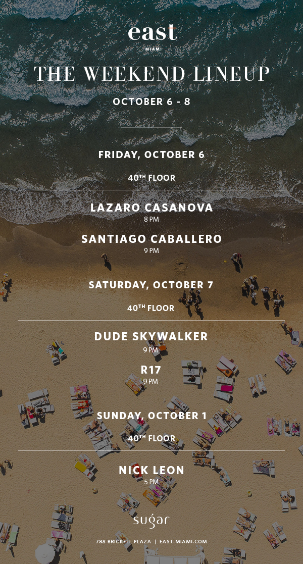 Weekend Line-Up October 6 - October 8.jpg