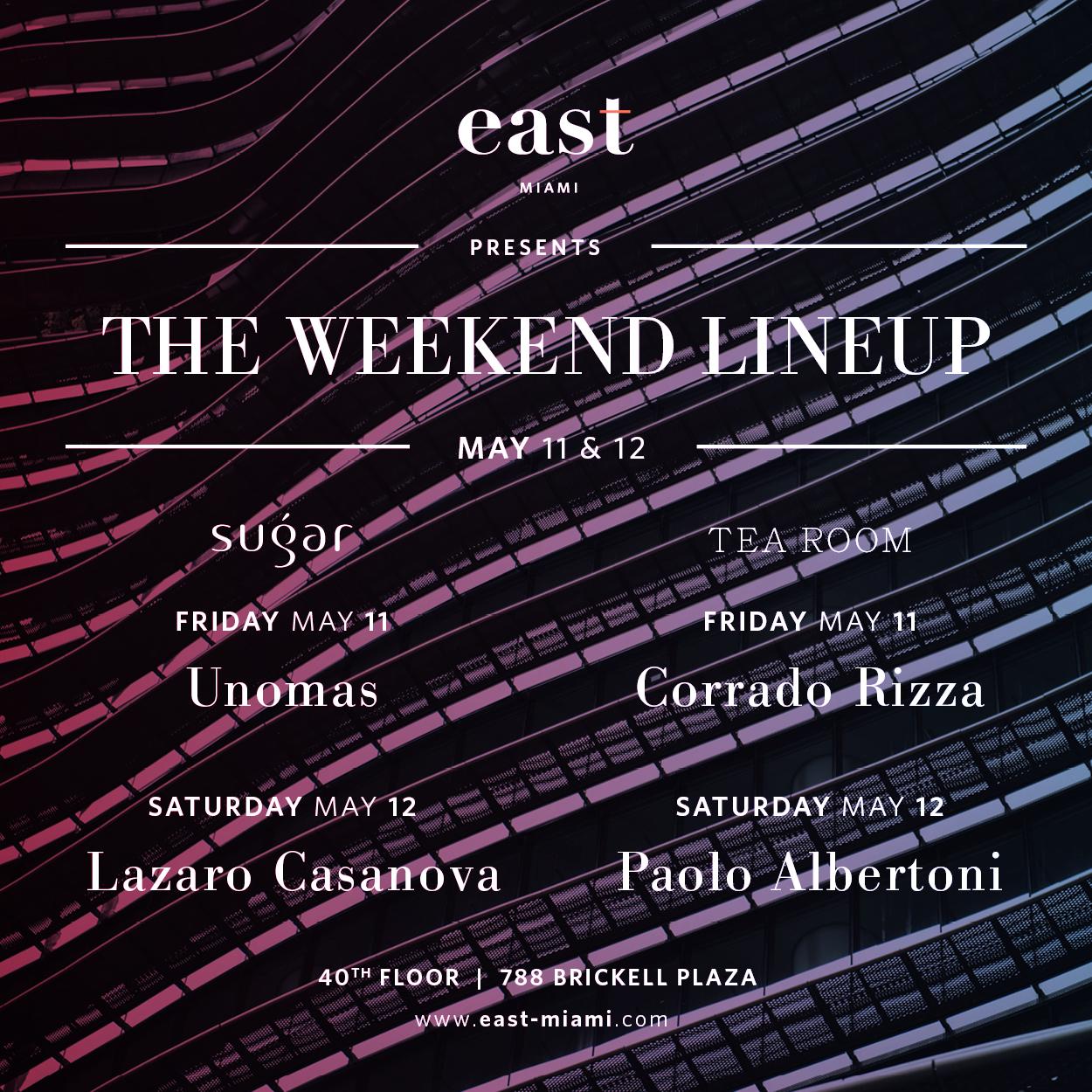 Weekend Lineup May 11-12 2018.jpg