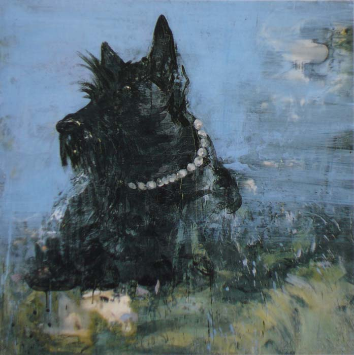 Marie Antoinette's dog Odin