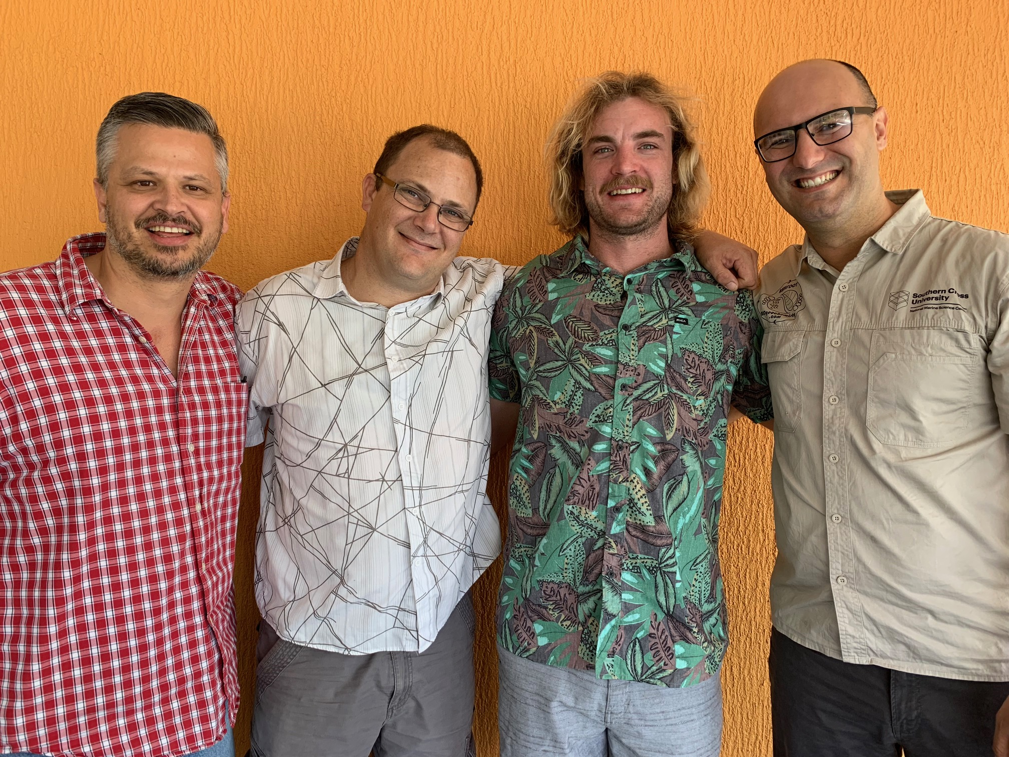 A./Prof. Christian Sanders, Mr Shane White, Mr Stephen Conrad, Prof. Isaac Santos.