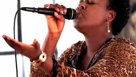Vocalist Jackie Jones