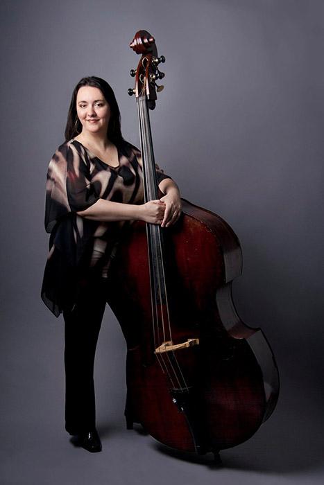 Bassist Jennifer Vincent