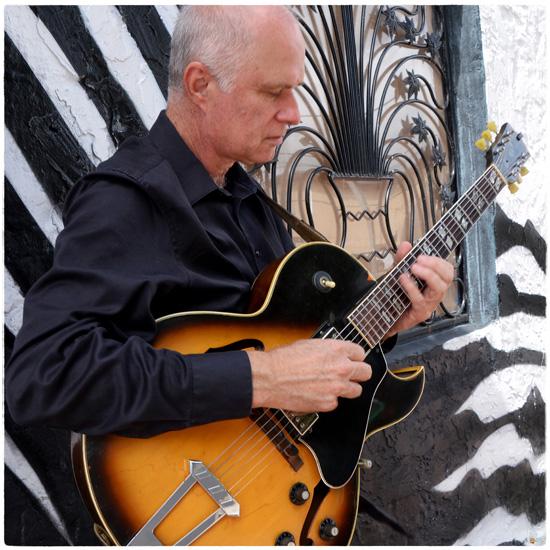 Guitarist John Hart