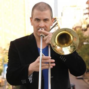 Trombonist Mark Miller
