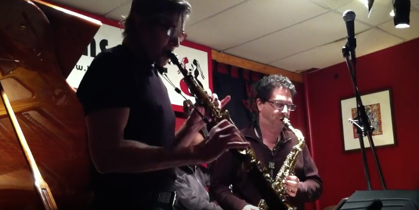 Alto Saxophonist Anton Denner and Soprano Saxophone Chris Bacas