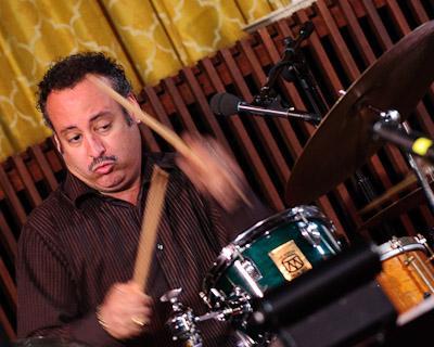 Drummer Willie Martinez