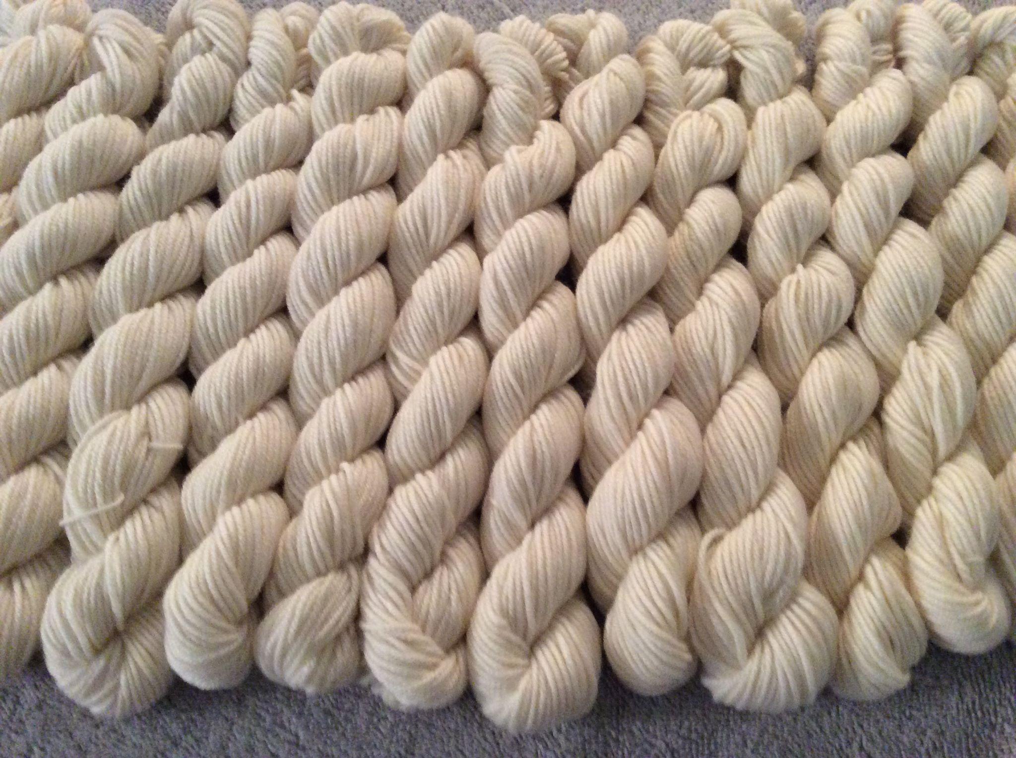Bare Yarn!! - We start with the bare yarns