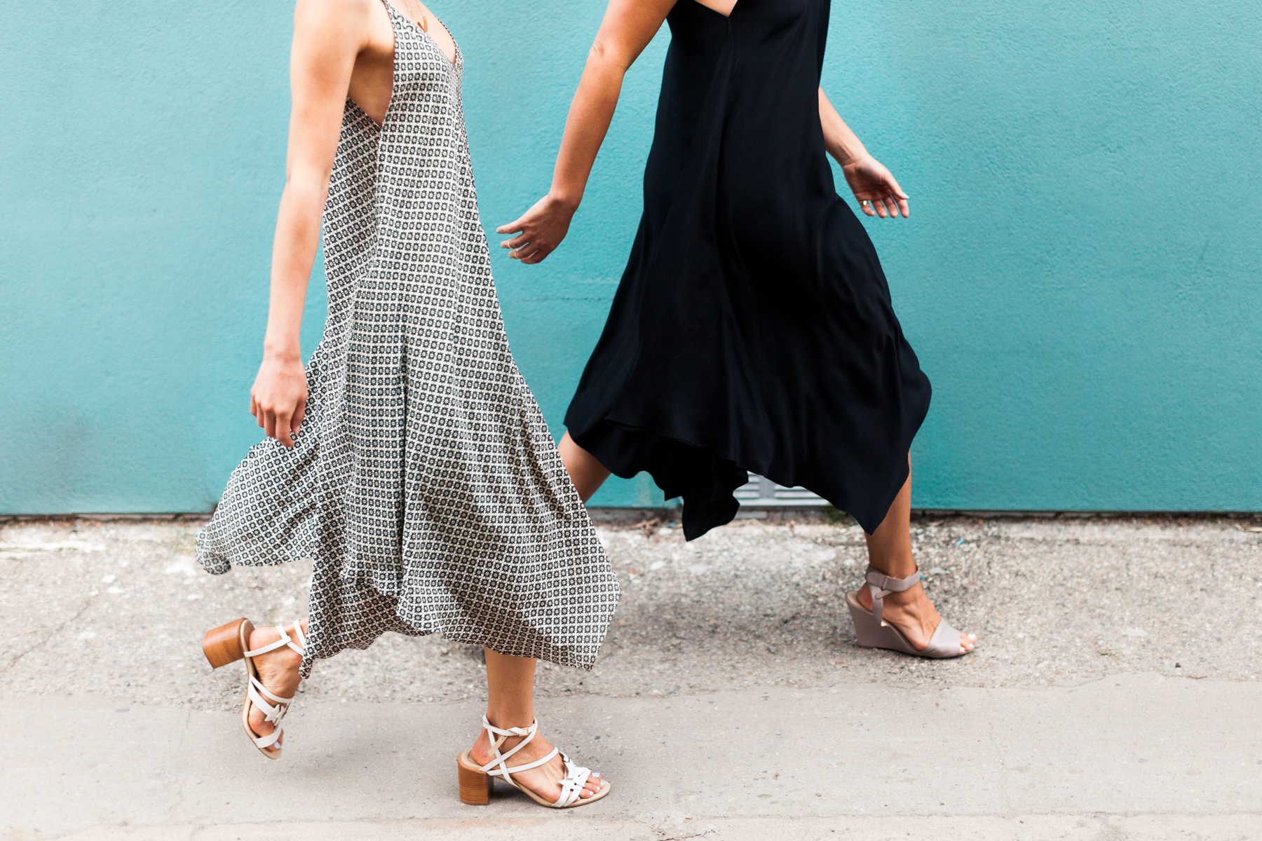 Season creates sustainable silk dresses, handmade in the USA for your eco-friendly capsule wardrobe.