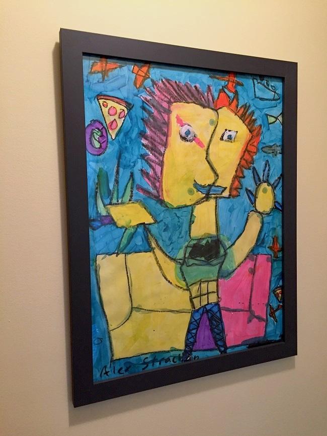 Affordable artwork, kids art, school artwork