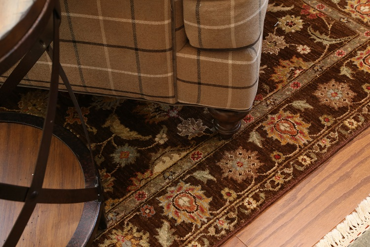 Behind the scenes portfolio pictures wool accent rug