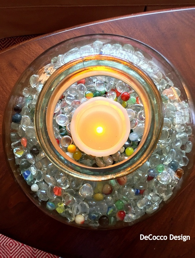 Easy DIY accessory, candle holder