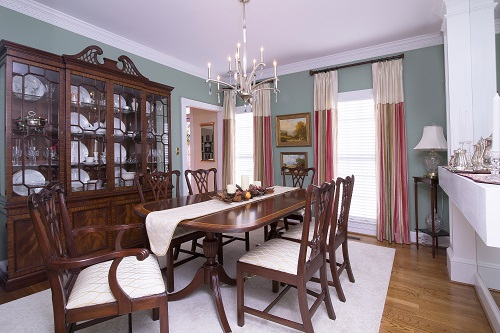 Formal Dining Room, Raleigh interior design