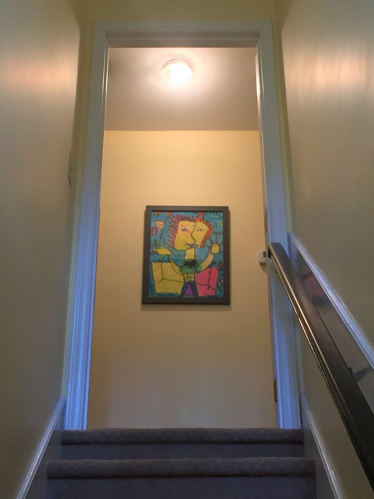 Affordable art, childrens pictures, school art, displaying kids art