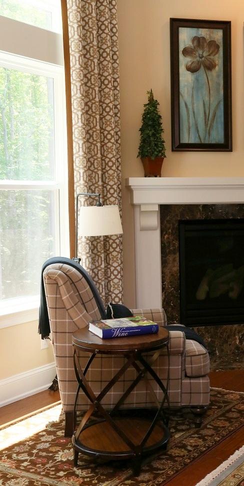 portfolio pictures, family room Bassett furniture seating