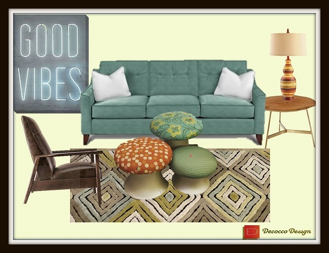 how to decorate with vintage