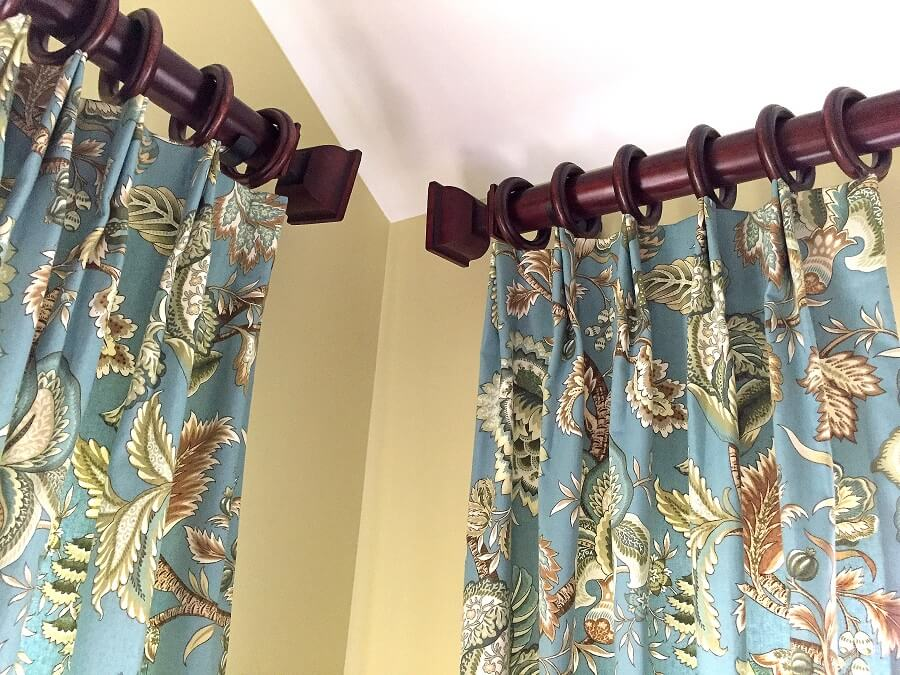 The biggest bang for your buck will always be custom window treatments.