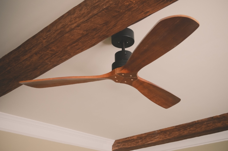 Ceiling fans have changed--for the better. Clean lines coordinate well with any style of home decor.