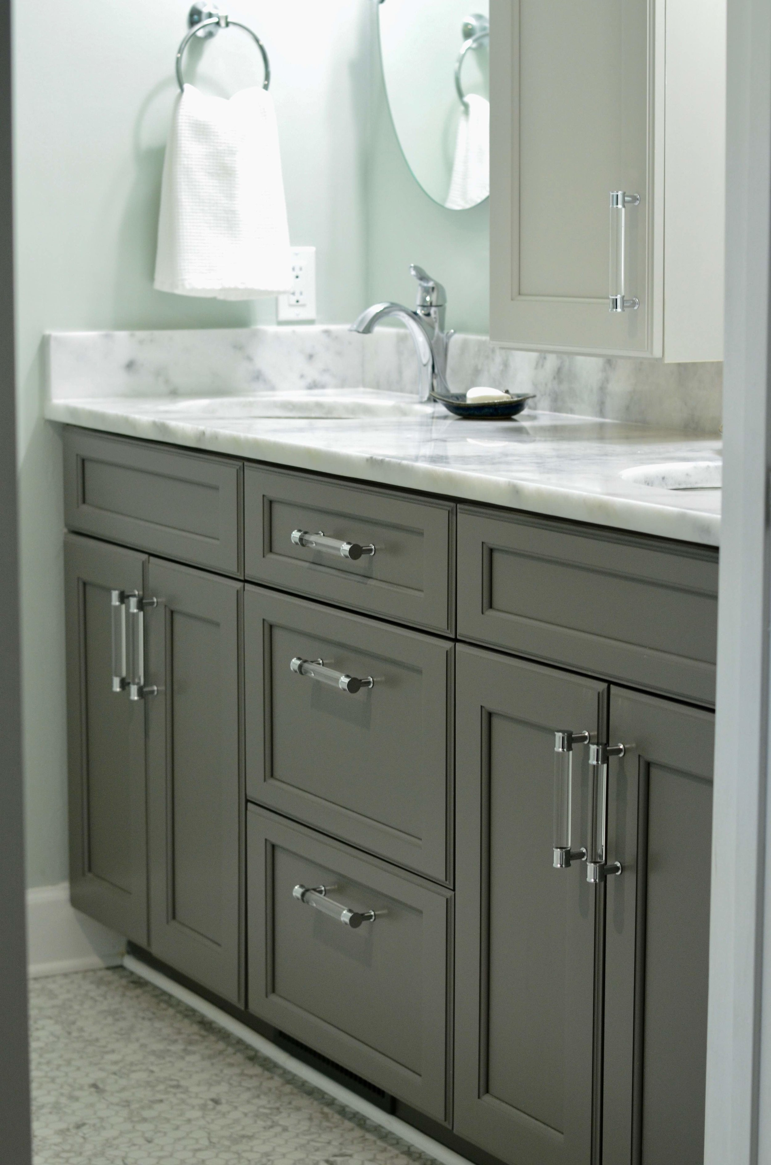 Bathroom renovations in older homes usually provide higher counters, more storage and upgraded finishes that make starting and ending the day much more pleasant!