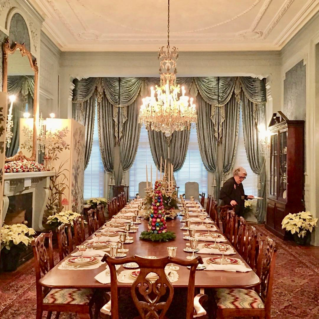 Govenor's Mansion in Raleigh, NC, Dining Room
