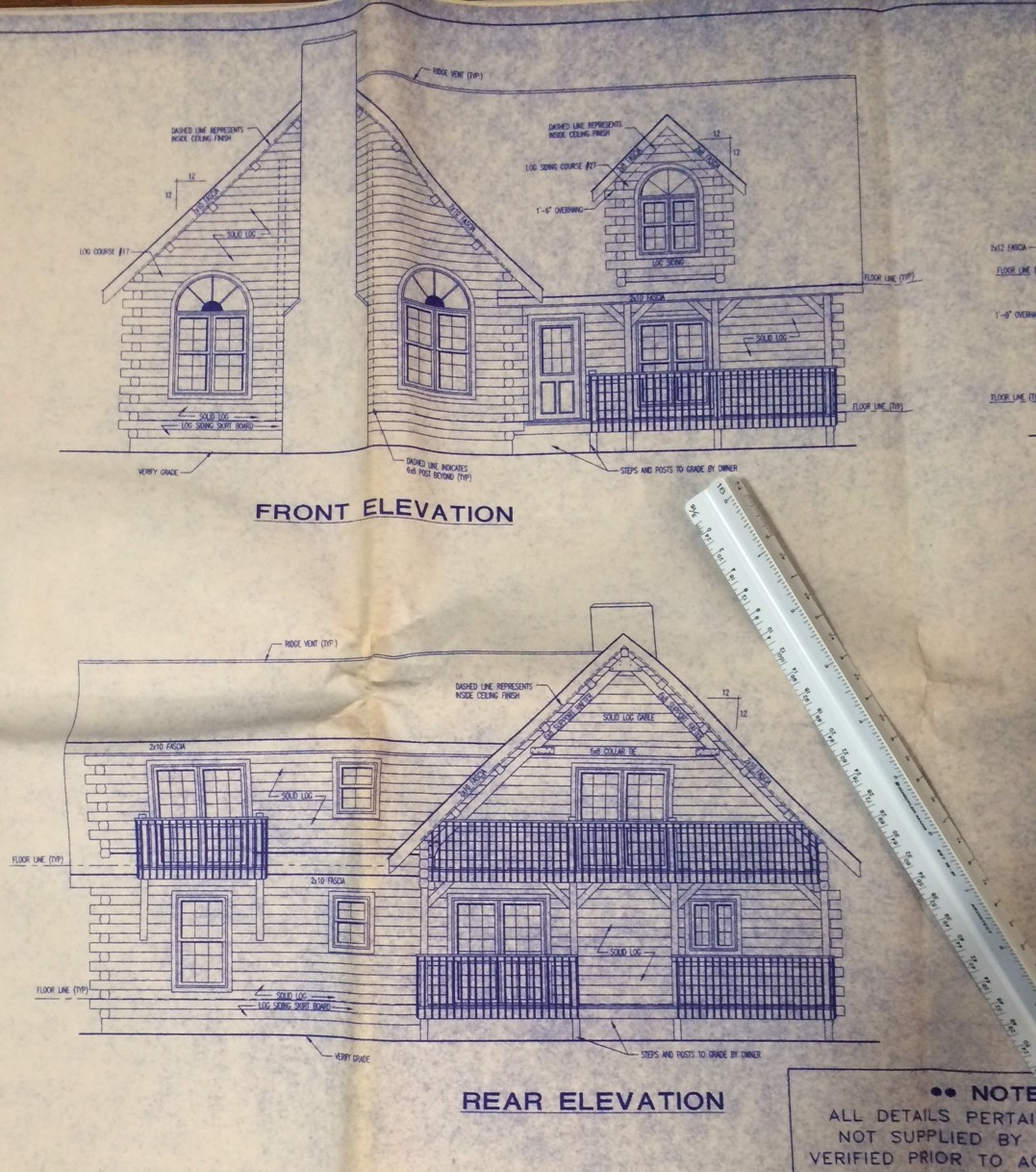 Log Cabin Blueprint