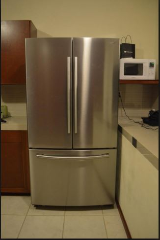 Large fridge in a tight space