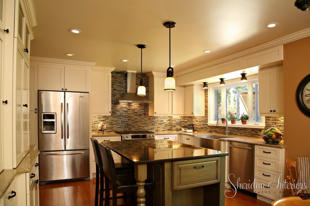 Country Kitchen – Sam's Diner – By Sheridan Interiors Kitchens + Baths