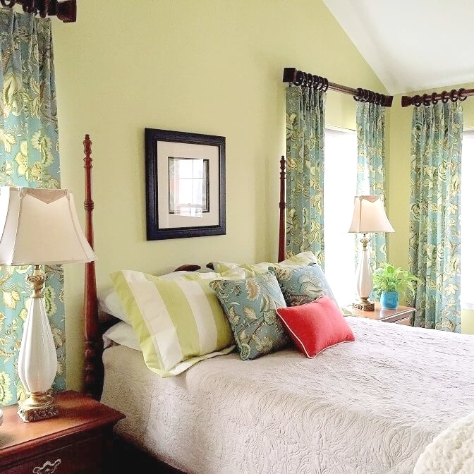 A master bedroom that looks fresh and coordinated is the best place to start and end the day.