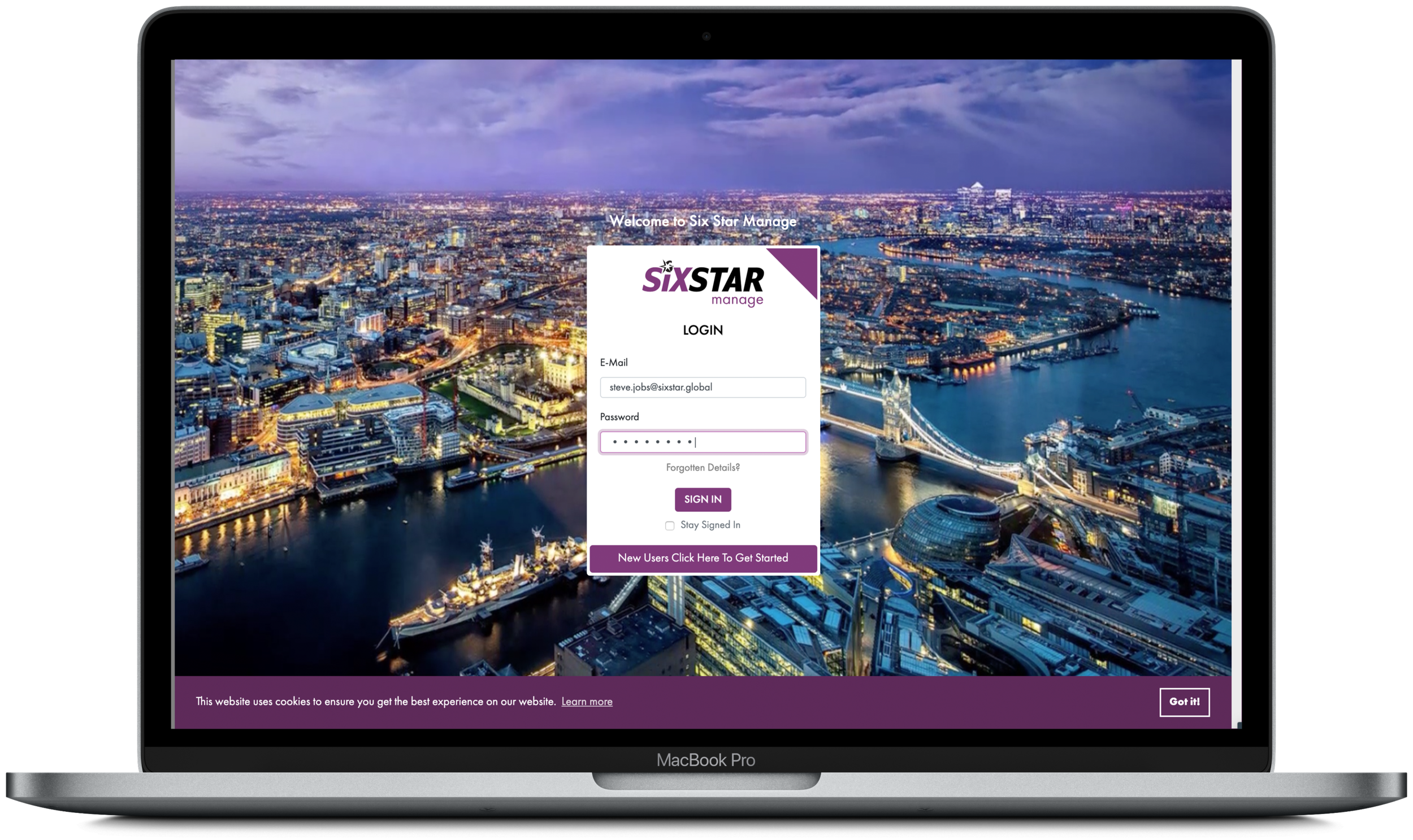 SIX STAR SUPPORT - 24/7 Management Portal