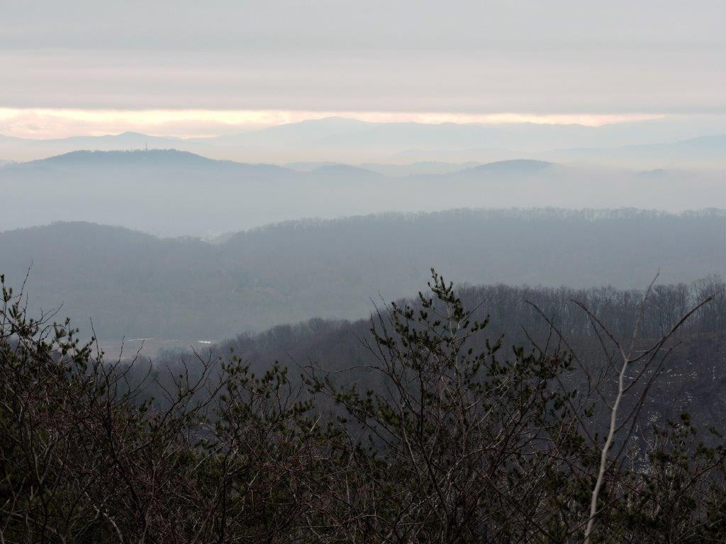 I'll never grow tired of misty mountain views throughout East Tennessee.