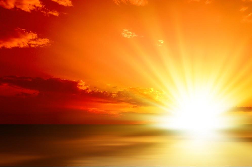 En la luz solar