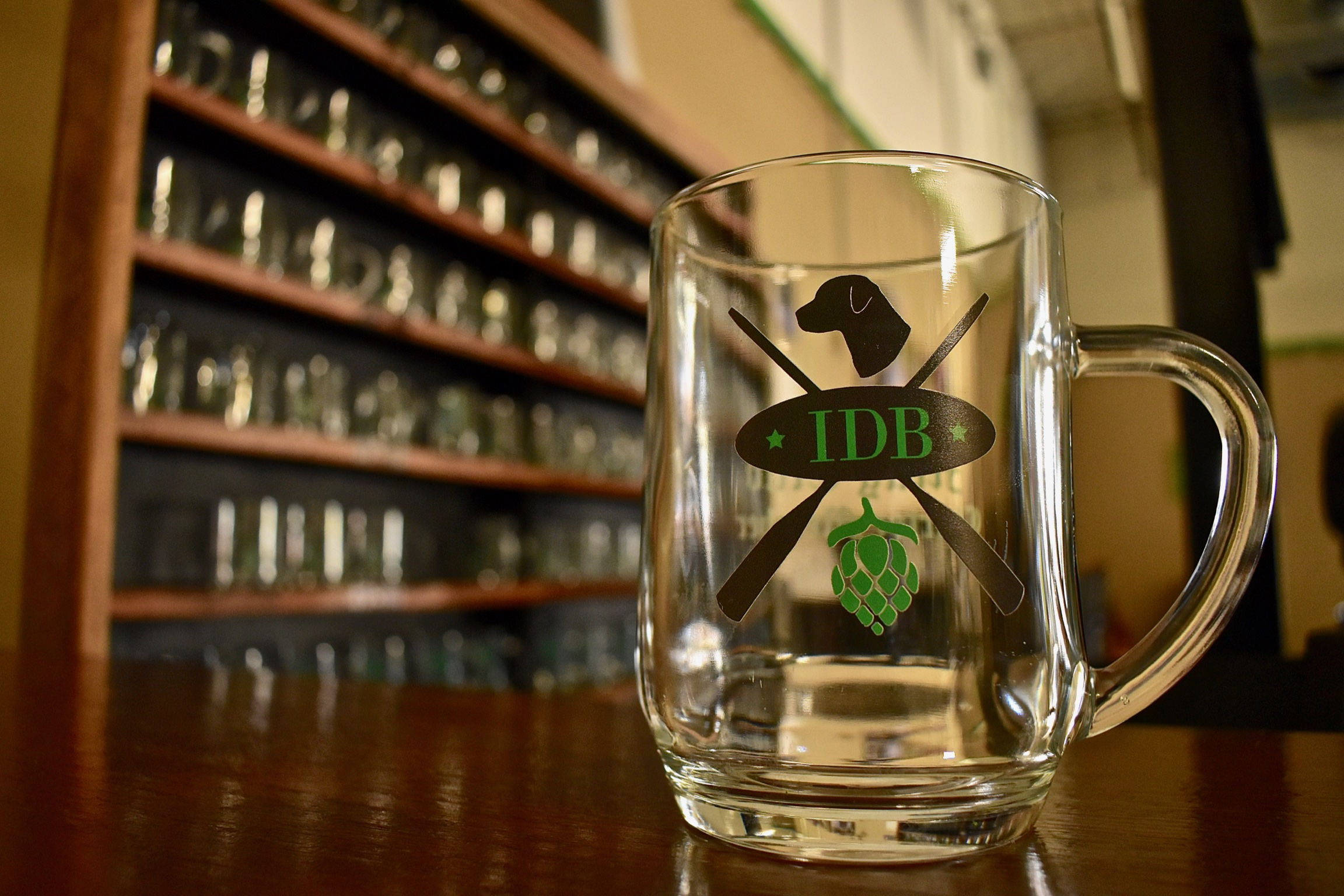 Join our Mug Club! 20oz pours, Mug Club only Tap, Special Mug Club events, 10% off merchandise