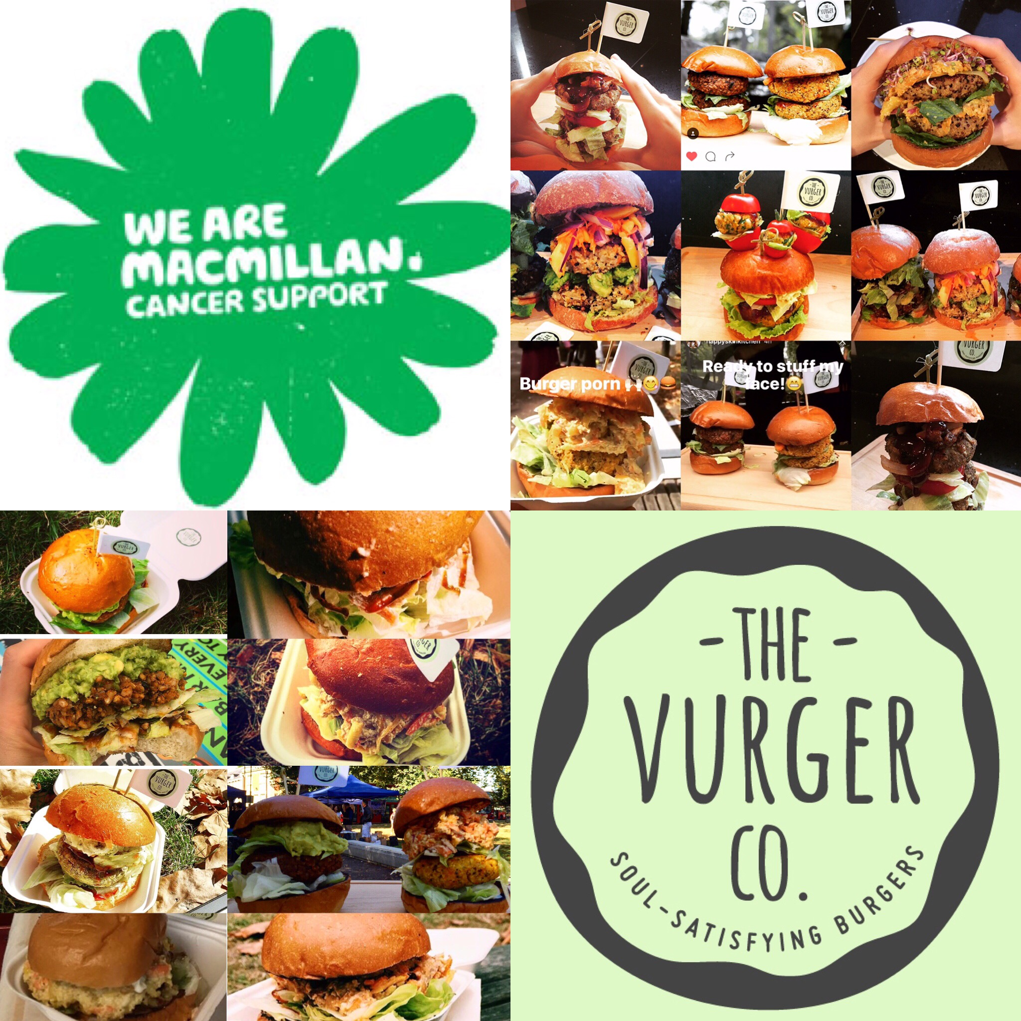 Come and help us support Macmillan in the only way we know how! A Vurger feast!