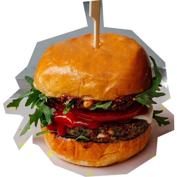COME AND GET SOME!   Our MLT burger contains around 18 grams of vegan protein! Grab yours today from The Vurger Co. Shoreditch and Canary Wharf!