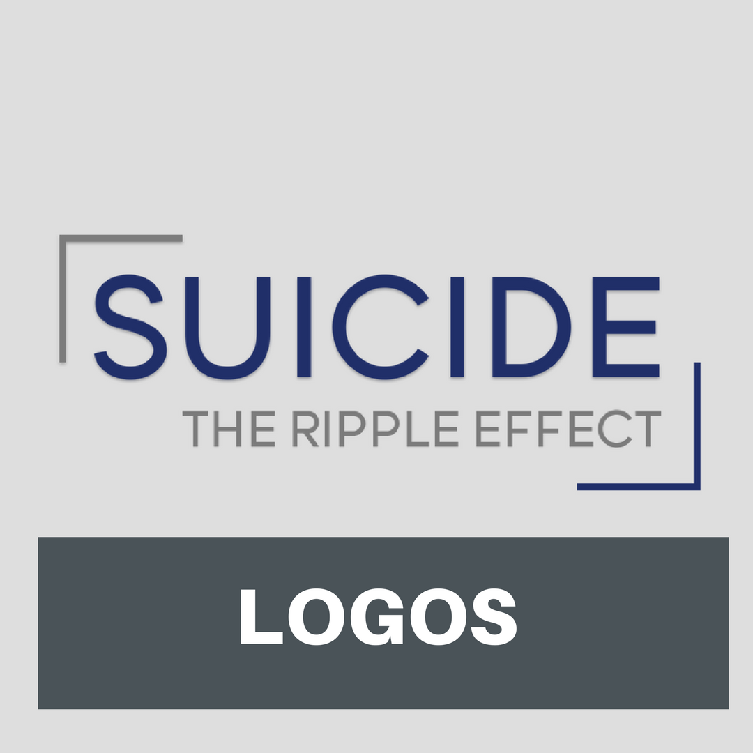 Logos - Official Suicide The Ripple Effect Logos that can be used for posters, Facebook groups and community screening promotion.
