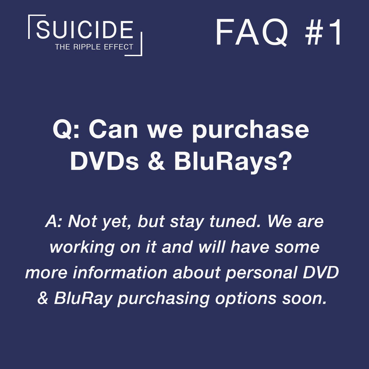FAQs #1 DVDs & BluRay.png