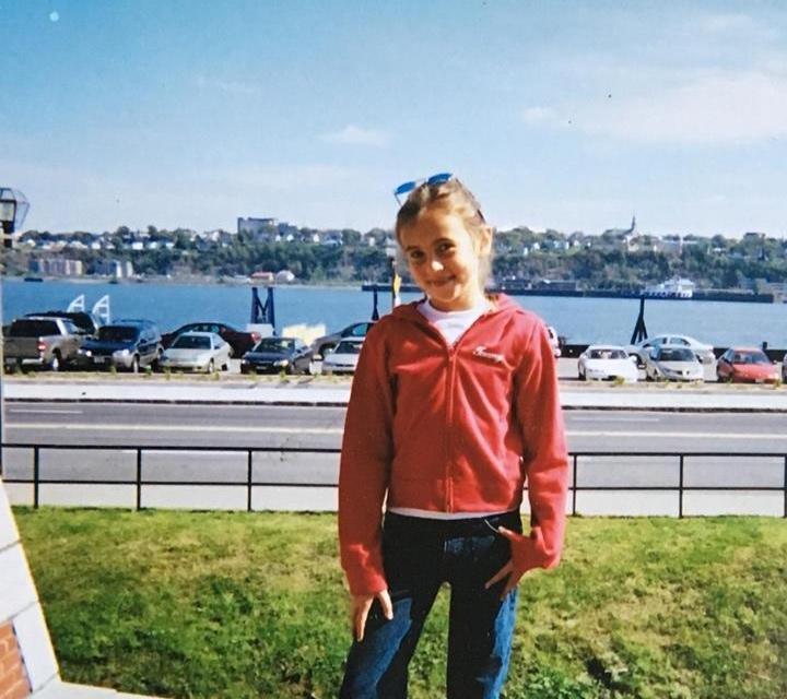 Me, age 10.